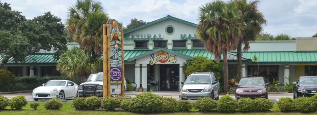Sunseed Natural Foods Co-op on A1A in Cape Canaveral, Florida.